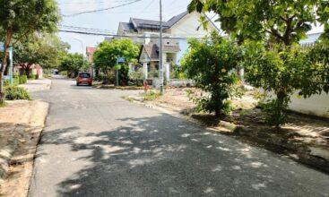 Mặt tiền lô góc Biệt thự TĐC 15ha trung tâm thị xã Phú Mỹ nhìn từ xa